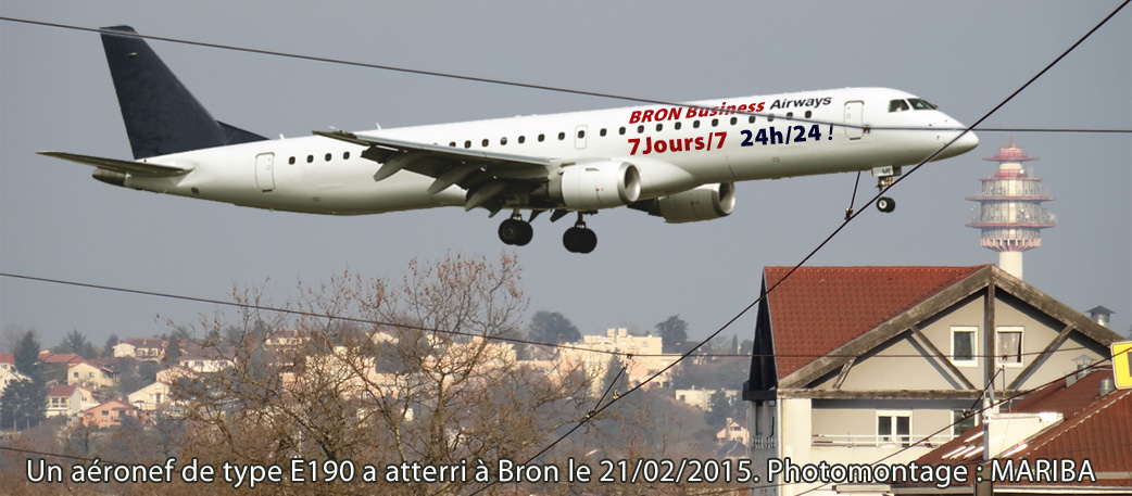 e190 bron business airline